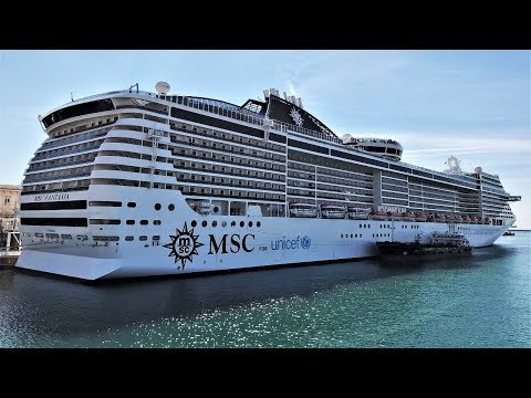 MSC Fantasia Cruise Ship 2019 4K