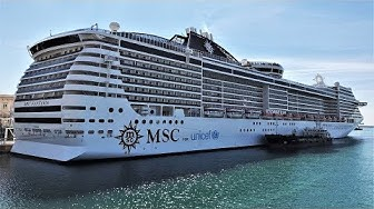 MSC Fantasia cruise ship 2019 4K