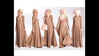 Abaya  ( बुर्का ) Complete Pattern  Drafting , Cutting  and Making | DIY | Yoke Style - Umbrella cut