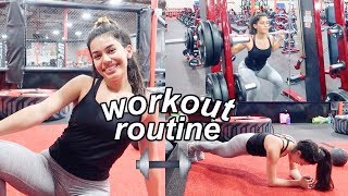 my workout routine 2018 // how I stay fit! | Ava Jules