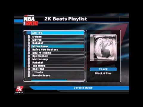 Miike Snow - Black & Blue (NBA 2K10 Edition)
