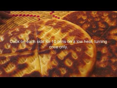 Ethiopian Food - Ambasha Bread Recipe - Amharic English Baking - Injera Mulmul Annebabero