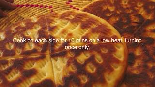 Ethiopian Food - Ambasha Bread Recipe - Amharic English Baking - Injera Mulmul Annebabero