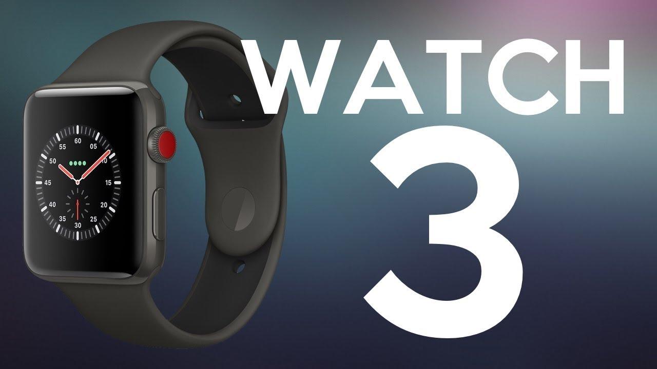 0abba47d9f8 Tudo sobre o APPLE WATCH SERIES 3! Vai ter até 4G (LTE)! - YouTube