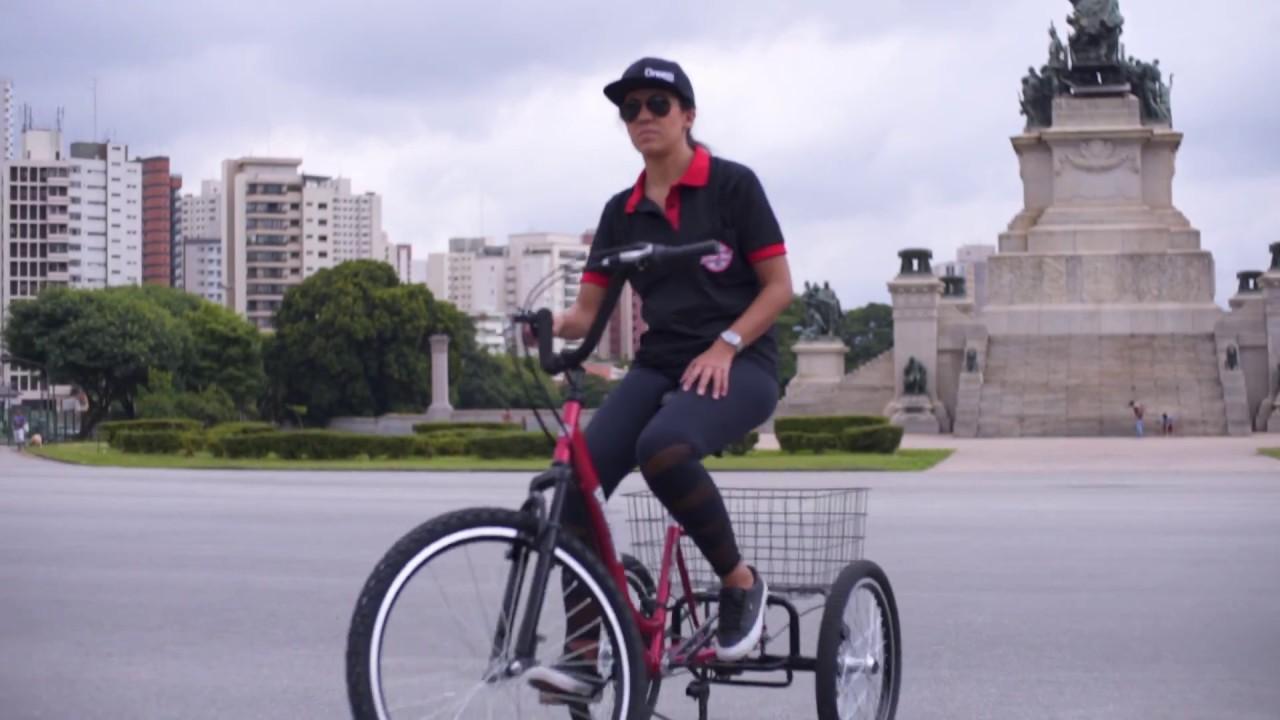 0fd9421e07f Como andar de Triciclo Dream Bike - YouTube