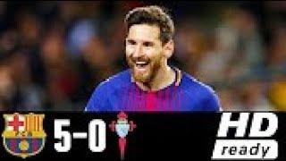 Barcelona vs Celta Vigo 5-0   All Goals & Highlights 11/01/2018 HD