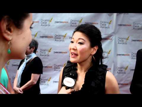 Jennifer Lim Interview on the Drama Desk Awards 2012 Red Carpet