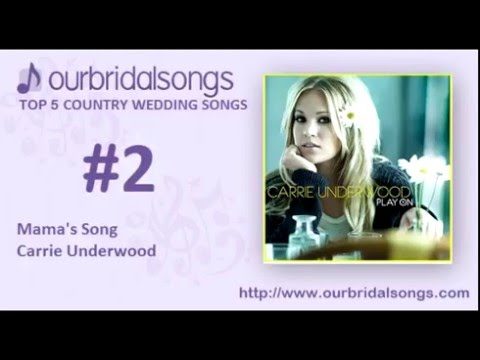 Top 5 Country Wedding Sgs