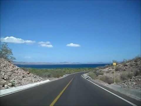 Baja California Sur driving from Mulegé to Loreto