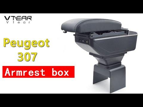 How to install Vtear for Peugeot 307 armrest  2004 -2013
