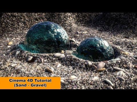 Sand - Gravel (Cinema 4D Tutorial)