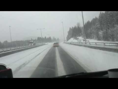 E18 Larvik - Drammen 16.01.2014