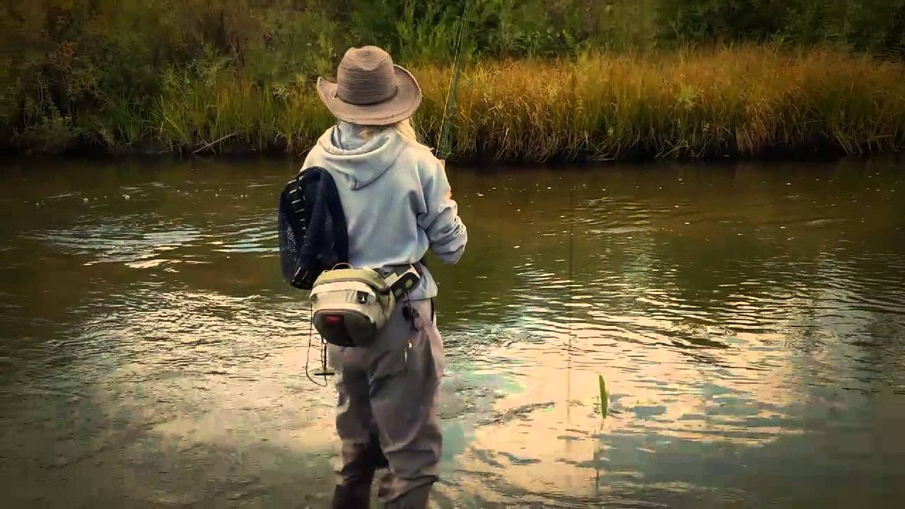 Woman fly fishing colorado that 70 39 s show youtube for Colorado out of state fishing license