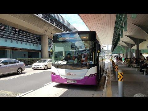 (SBS Transit) Scania K230UB Demonstrator SBS8033D on Service 185