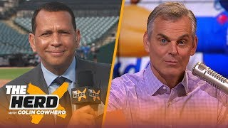Alex Rodriguez talks MLB All-Star Game, Yankees-Dodgers success this year & Mike Trout | THE HERD
