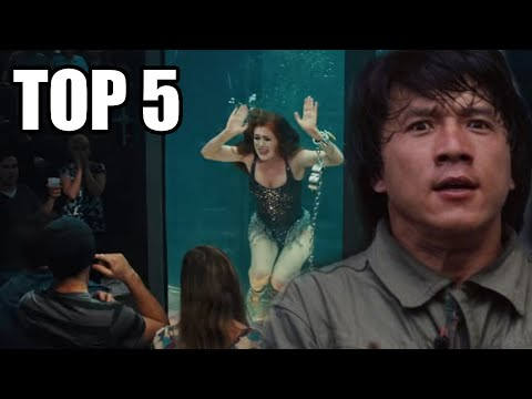 TOP 5 - Herců, kteří málem zemřeli při natáčení