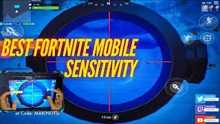 Fortnite Mobile Sensitivity Explained | How to improve your aim