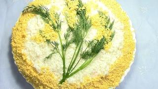 """""""Нежный салат с тунцом""""- салат простой,но очень вкусный и сытный. Как приготовить это блюдо?"""
