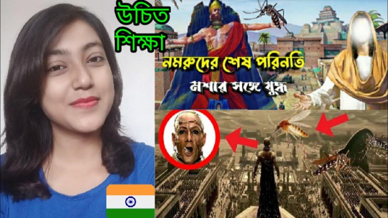 Hindu Girl reaction on    নমরুদ এর শেষ পরিণতি    Hazrat Ibrahim As   