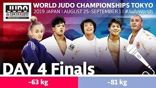 World Judo Championships 2019: Day 4 - Final Block