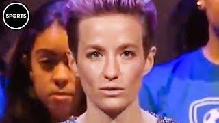Megan Rapinoe Honors Kaepernick During Speech