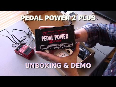 VooDoo Power Supply Unboxing & Demo - Eliminating Pedal Noise