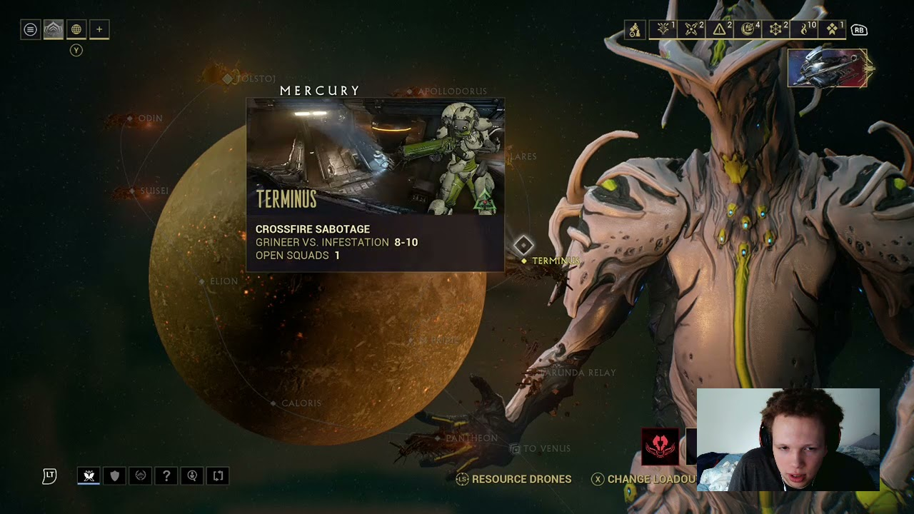 Download Warframe grind attempting to level up some more to MR 9