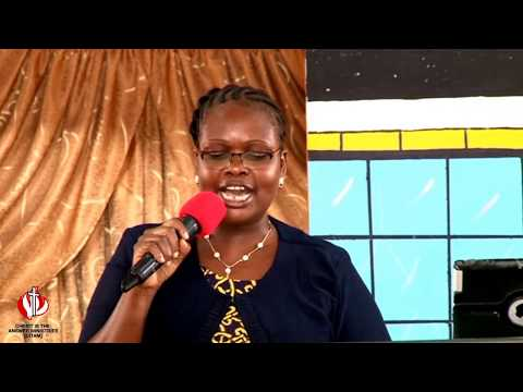 The  Necessity Of The Cross. Pastor Petronila Imbayi 11. 03. 2018