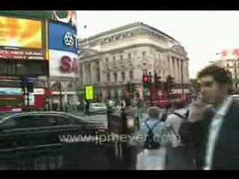 London, England travel: Piccadilly Circus and surrounding ar