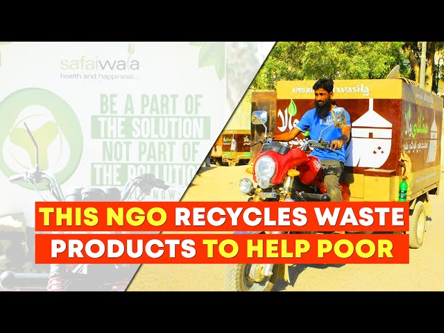 Safaiwala - This NGO Recycles Waste Products To Help Poor
