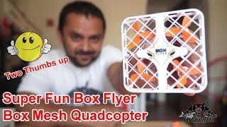 The Amazing Box Flyer is the Safest and Funniest Micro Drone