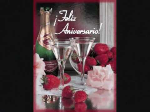 Feliz aniversario mi amor.