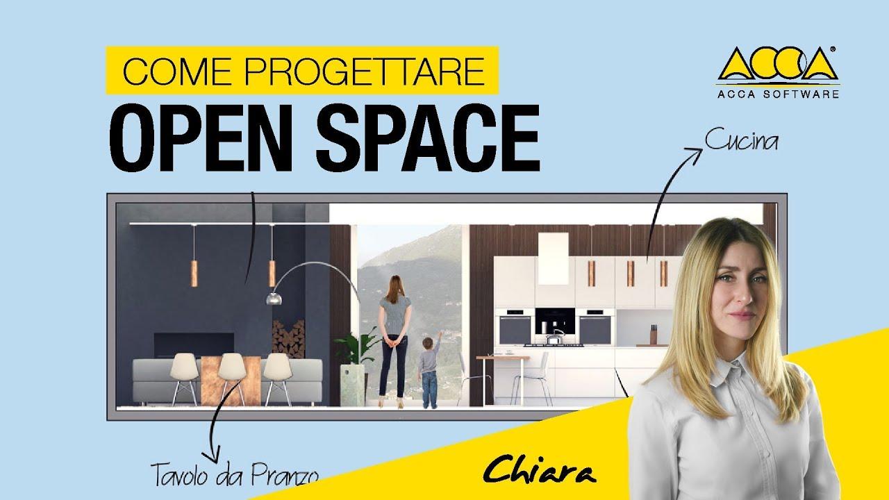 Progettare Cucina On Line Gratis progettare un open space: consigli utili ed esempi pratici