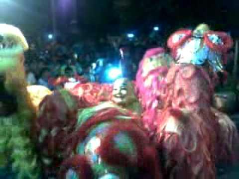 Đoàn lân sư rồng Bạch Ngọc Đường - Huế - Trung Thu 2010 ( Ngũ Phúc )