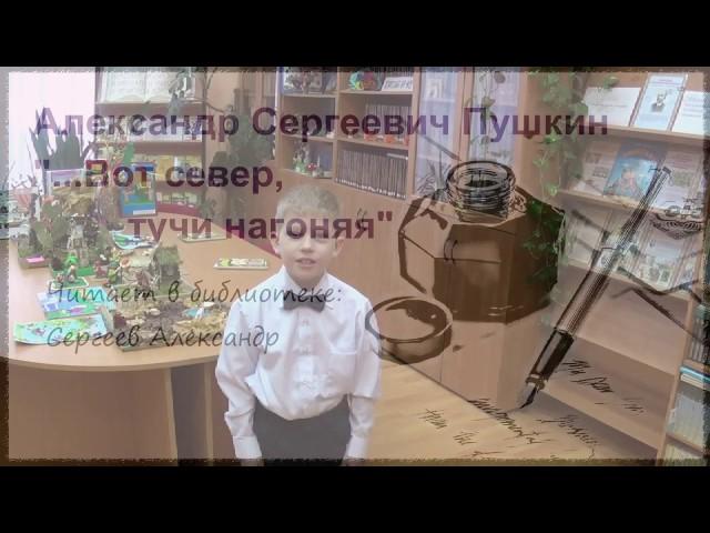 Изображение предпросмотра прочтения – АлександрСергеев читает произведение «Вот север, тучи нагоняя…» А.С.Пушкина