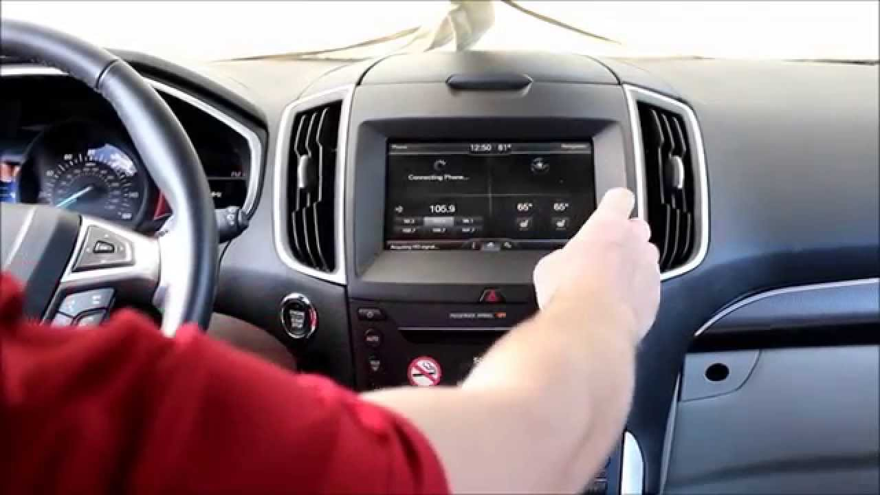 2015 ford edge factory gps navigation upgrade