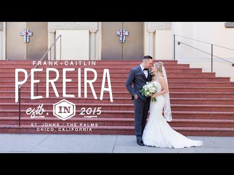 Romantic Catholic Wedding Ceremony & Reception - Frank&Caitlin's Wedding Film