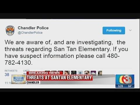 Threat at Santan Elementary School under investigation