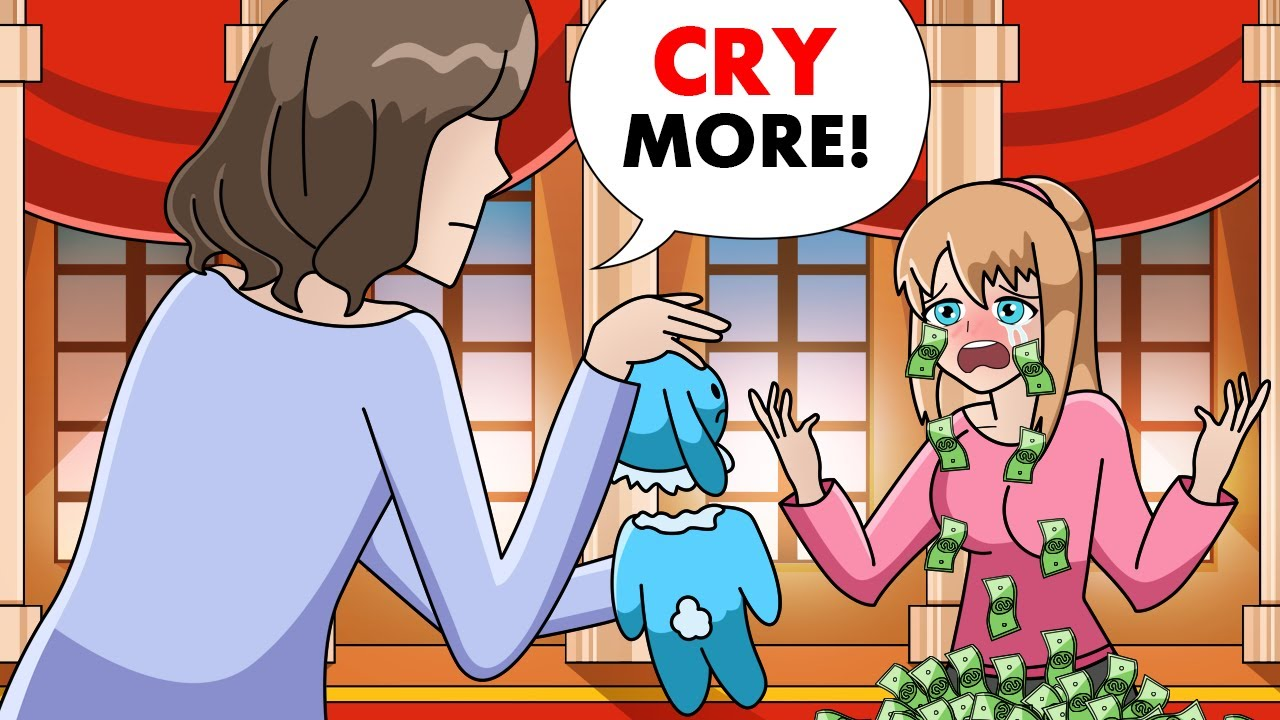 Download I have tears of money, parents force me to cry