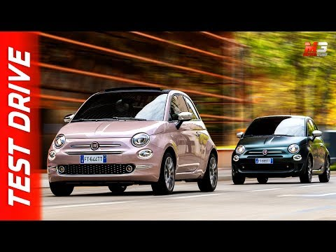 Drive Co Uk New On The Block Fiat 500 Star And Rockstar Hatchbacks