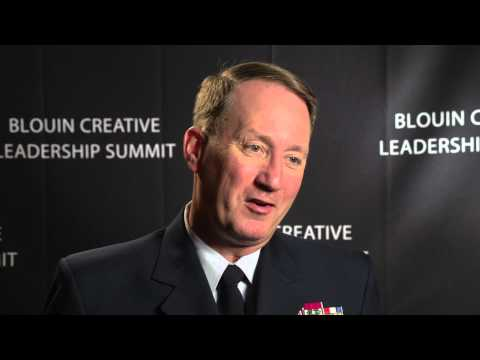Interview with Rear Admiral Robert E. Day Jr. - 2012 Blouin Creative Leadership Summit