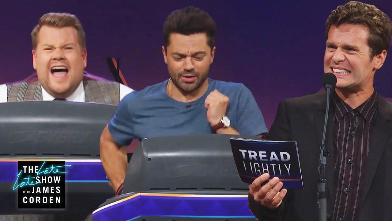Treadmill Quiz w/ Dominic Cooper