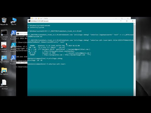 Mimikatz: Pass-The-Hash Attack, Privilege Escalation And Domain Dominance On Active Directory