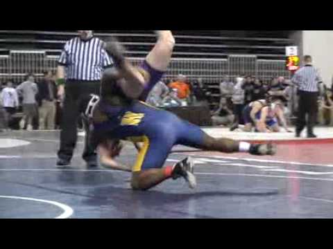 Hyde School Wrestler Richard Perry at Nationals