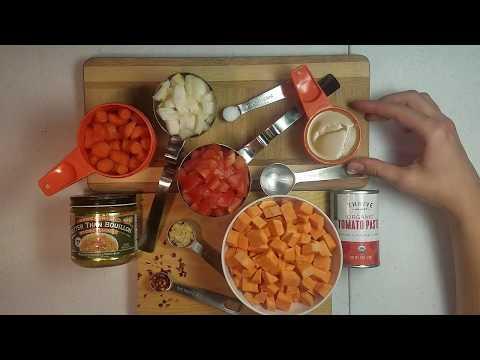 West African Sweet Potato Peanut Soup
