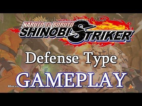 Naruto to Boruto Shinobi Striker Defense Type Gameplay Breakdown