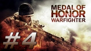 Medal of Honor: Warfighter Gameplay Walkthrough - Part 4 (PC) Ultra Settings GT 650M Asus N76