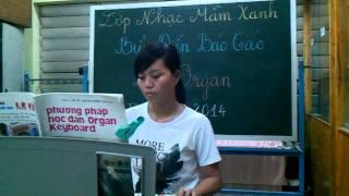 Ngày tân hôn - Thu Thủy - học viên organ lớp nhạc Mầm Xanh