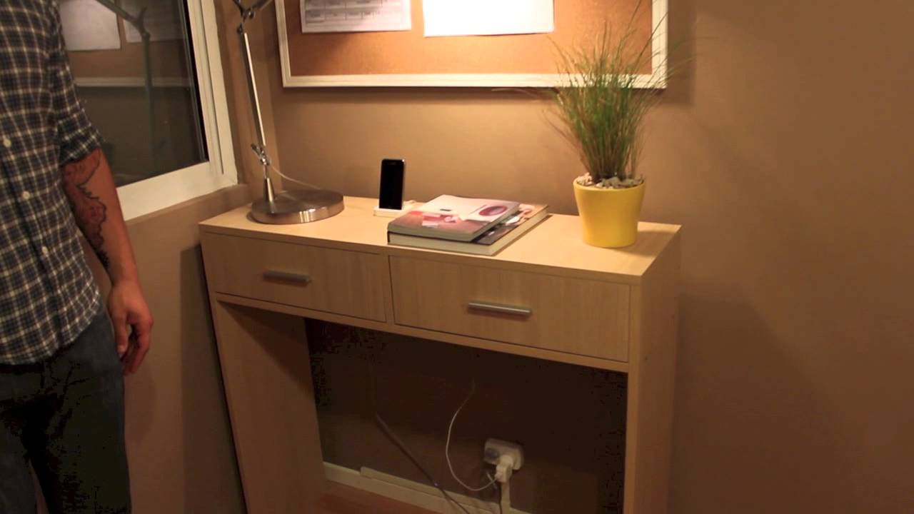 Mueble de arrime modelo line hd youtube for Programa para disenar muebles de melamina gratis