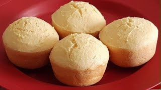 Bolinho de Floco de Arroz para Substituir o Pão no Café da Manhã